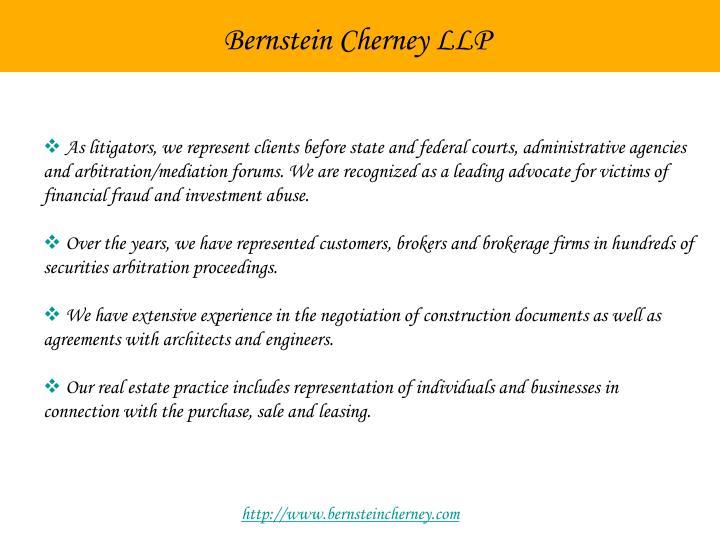 Bernstein Cherney LLP