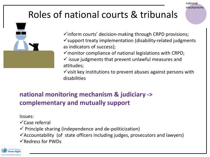 national mechanisms