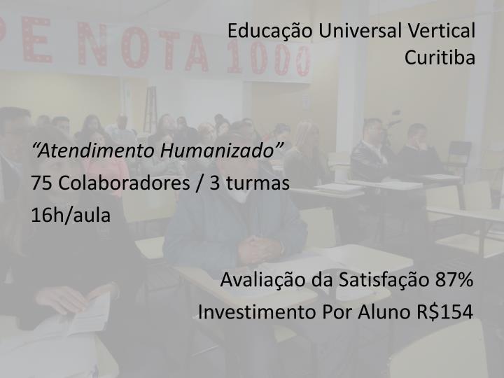 Educação Universal Vertical