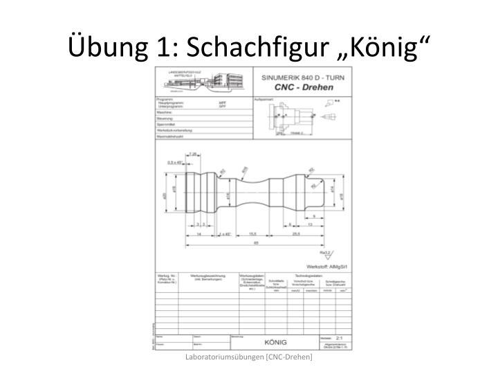 """Übung 1: Schachfigur """"König"""""""