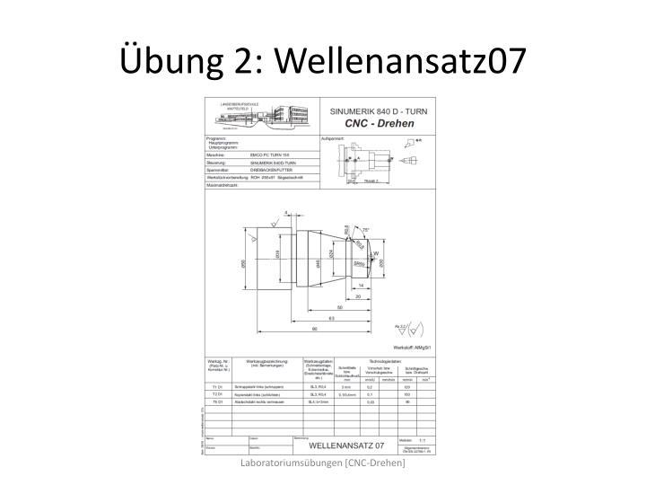 Übung 2: Wellenansatz07