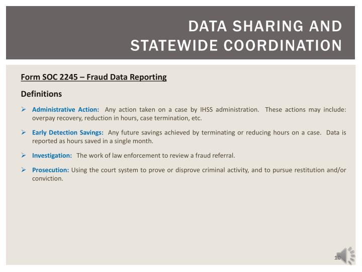 DATA SHARING AND