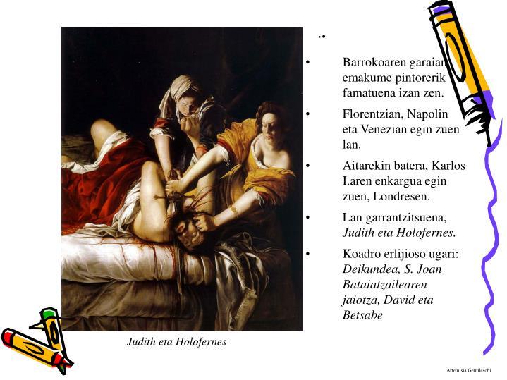 Judith eta Holofernes