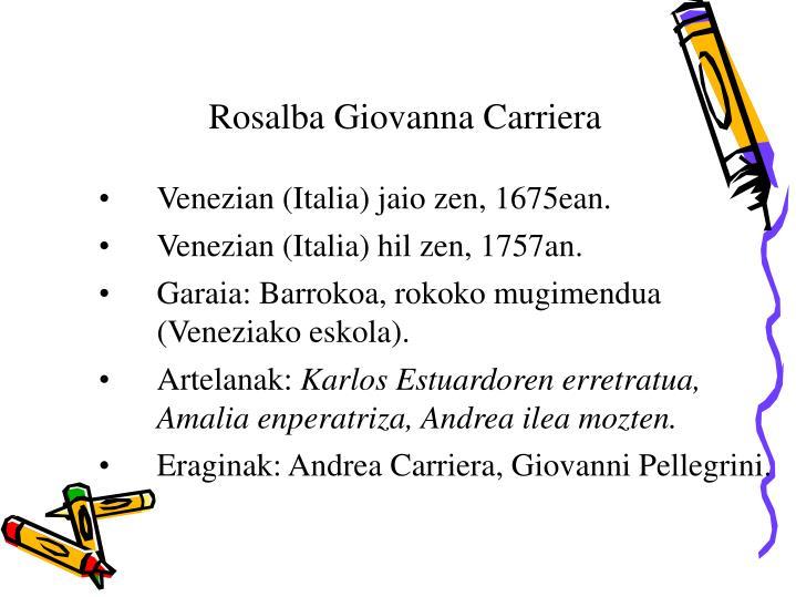 Rosalba Giovanna Carriera