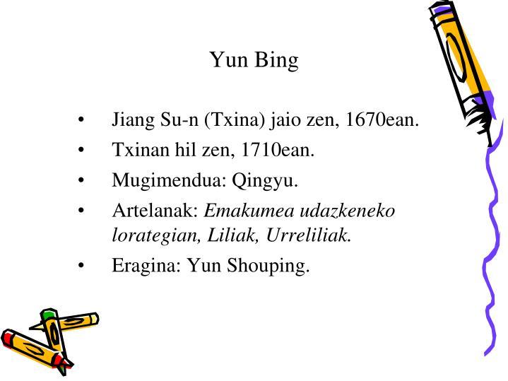 Yun Bing