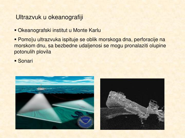 Ultrazvuk u okeanografiji