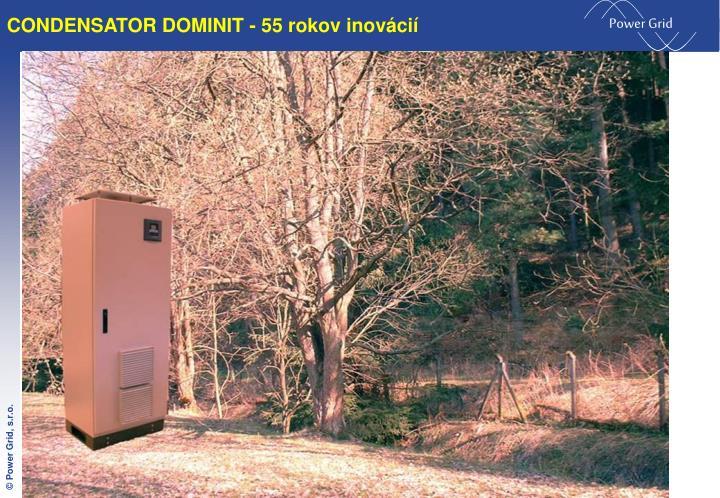 CONDENSATOR DOMINIT - 55