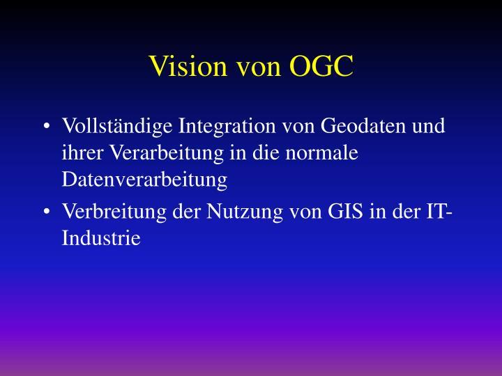Vision von OGC