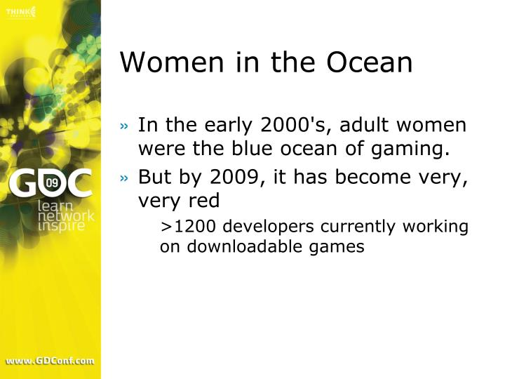 Women in the Ocean