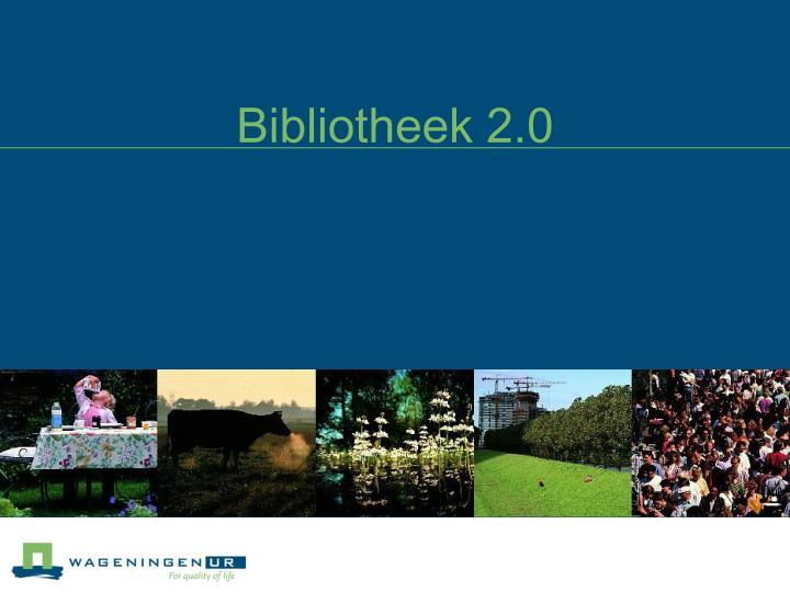 Bibliotheek 2.0