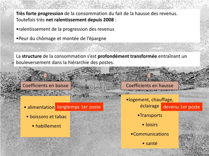 Très forte progression