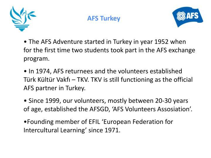 AFS Turkey