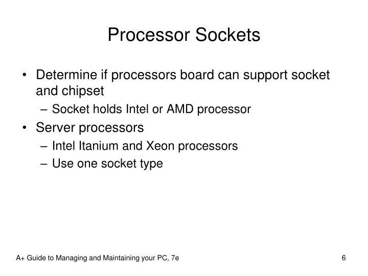 Processor Sockets