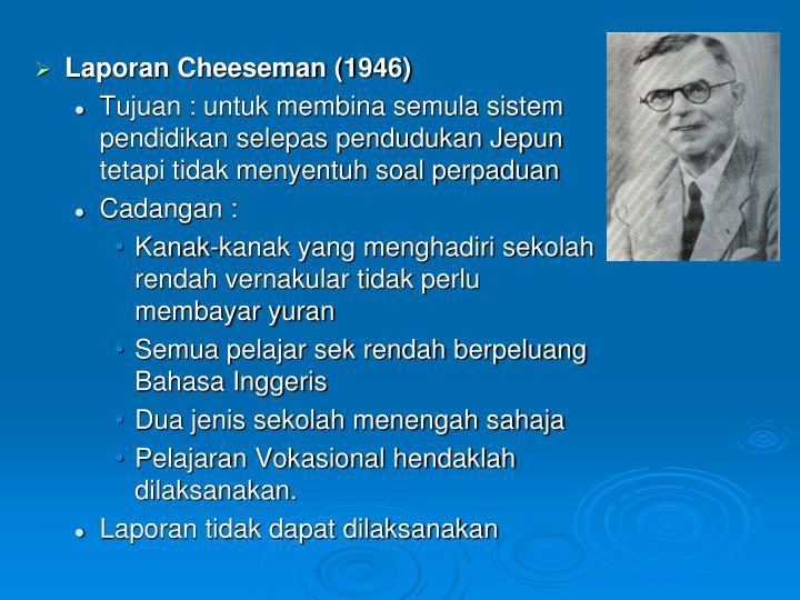 Laporan Cheeseman (1946)