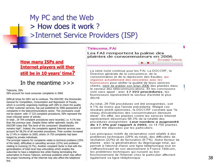 My PC and the Web