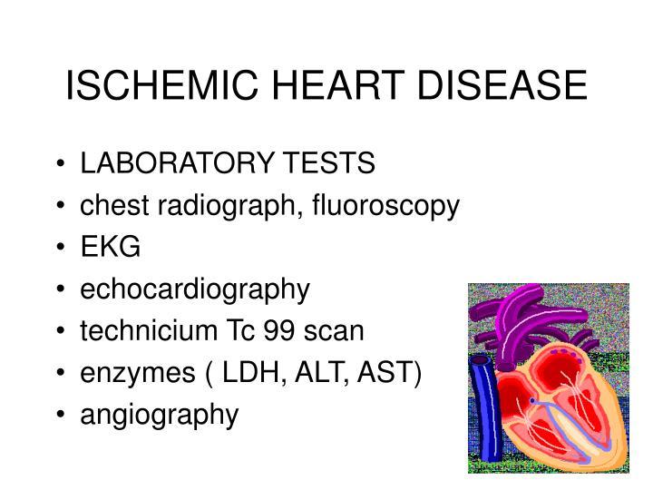 ISCHEMIC HEART DISEASE