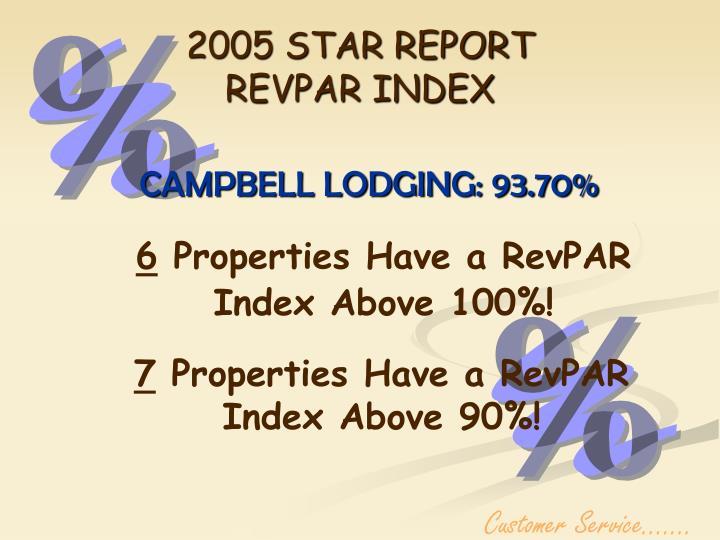 2005 STAR REPORT