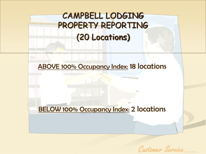 CAMPBELL LODGING