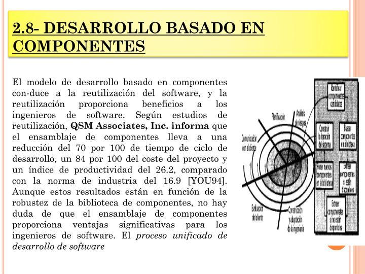 2.8- DESARROLLO BASADO EN COMPONENTES