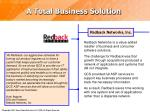 a total business solution