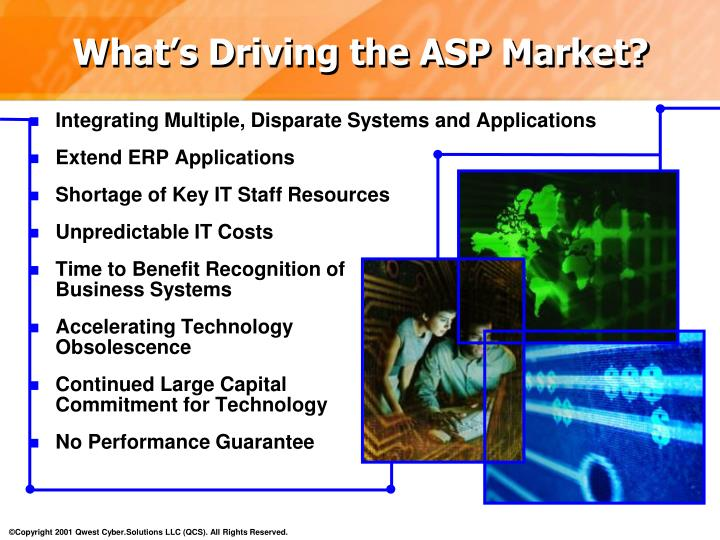 What's Driving the ASP Market?