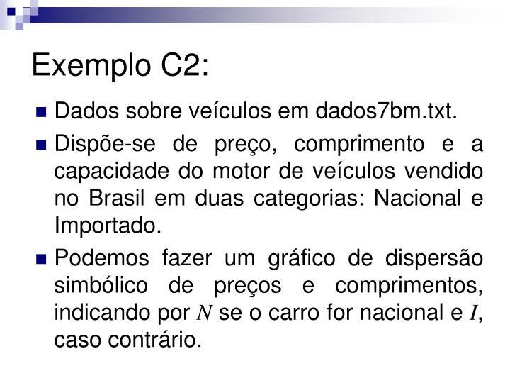 Exemplo C2: