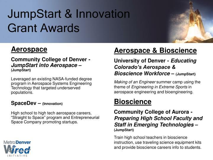 JumpStart & Innovation