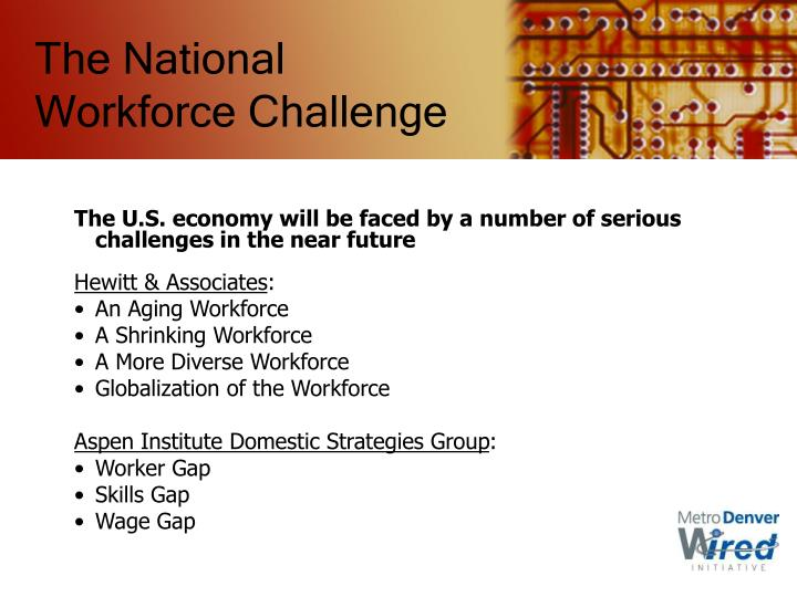 The National Workforce Challenge