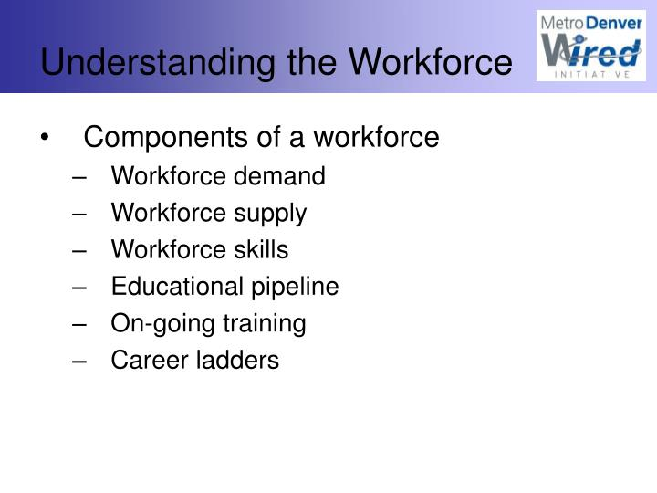 Understanding the Workforce