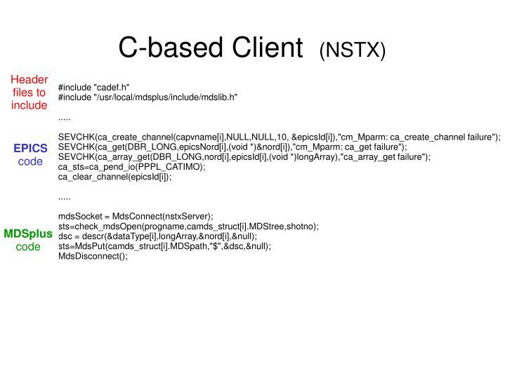 C-based Client
