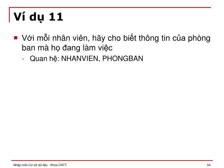 Ví dụ 11