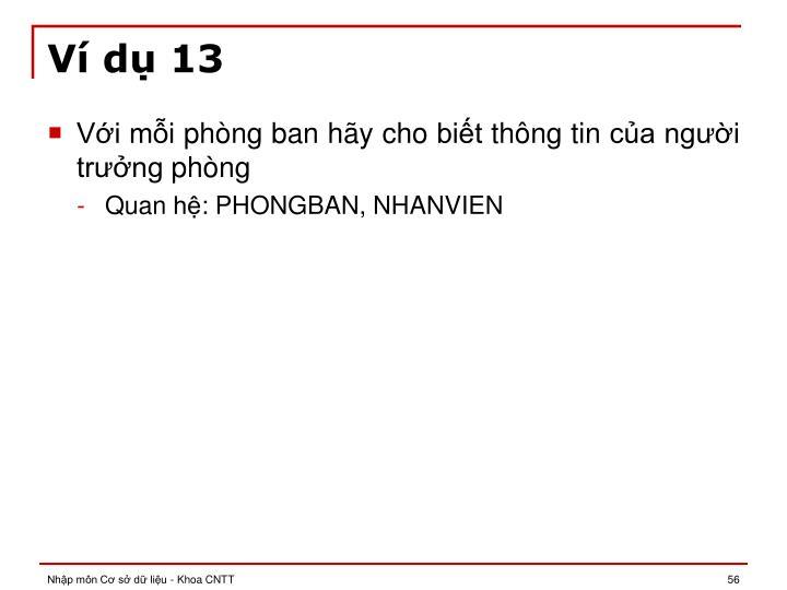 Ví dụ 13