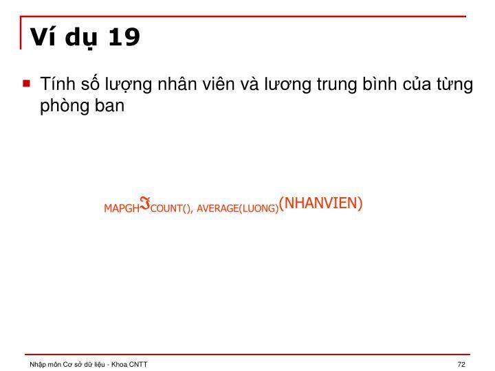 Ví dụ 19