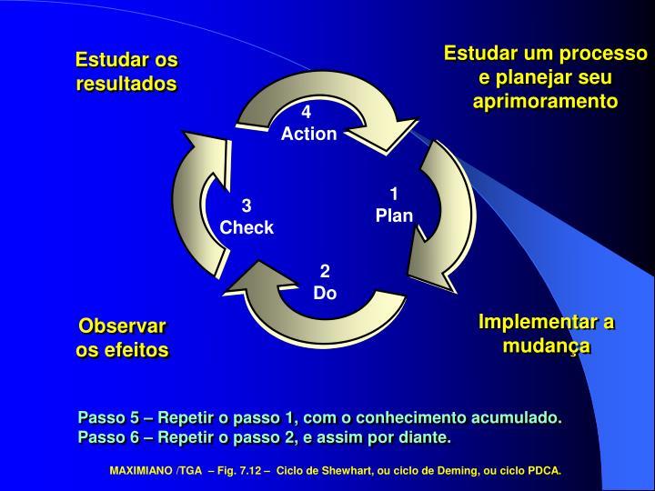 Estudar um processo e planejar seu aprimoramento