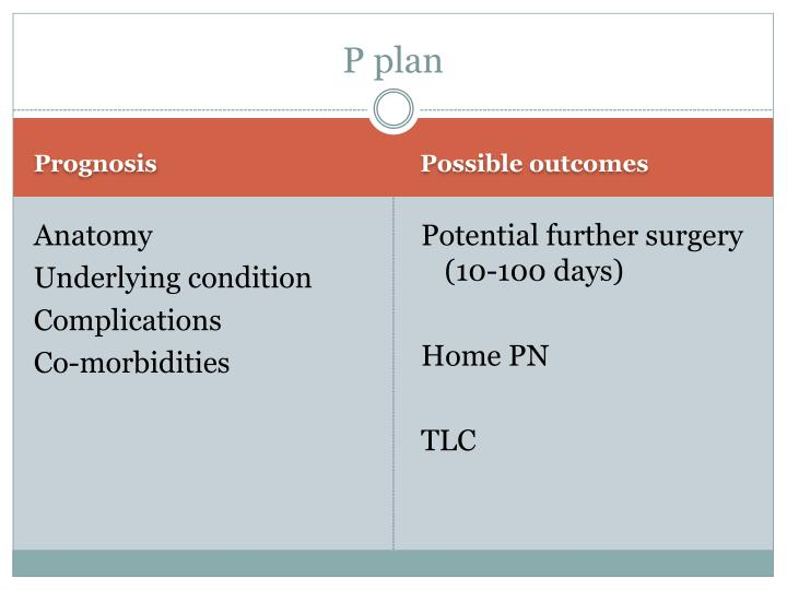 P plan