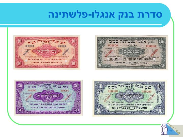 סדרת בנק אנגלו-פלשתינה