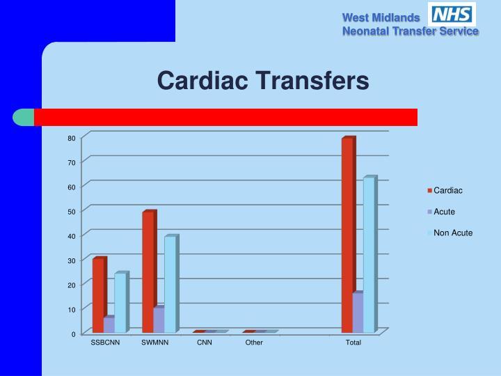 Cardiac Transfers