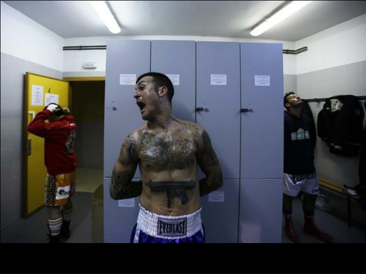 Soirée de boxe à Madrid, Espagne