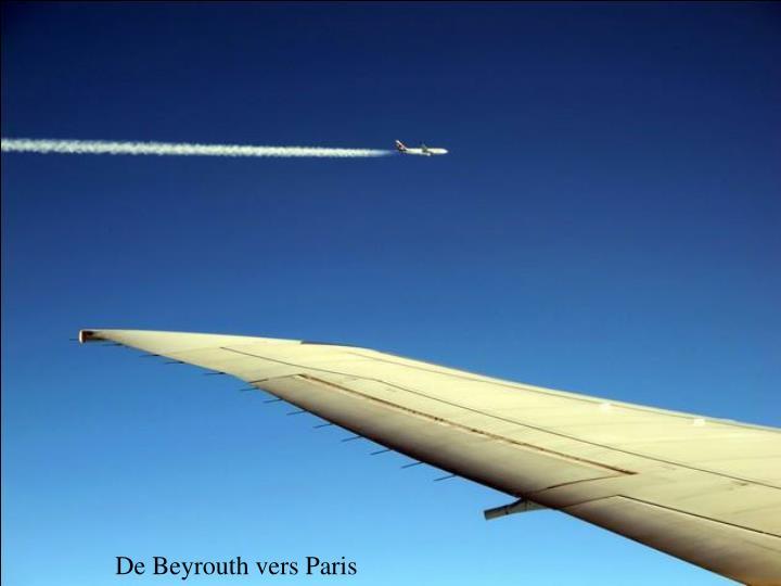 De Beyrouth vers Paris