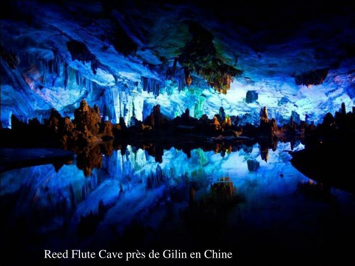 Reed Flute Cave près de Gilin en Chine