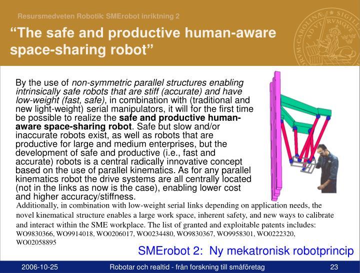 : SMErobot inriktning 2