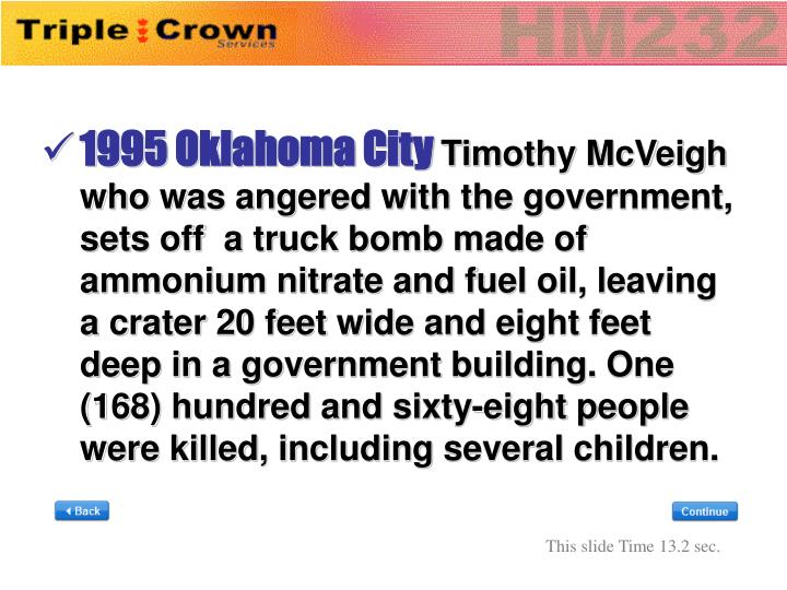 1995 Oklahoma City