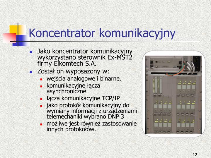 Koncentrator komunikacyjny