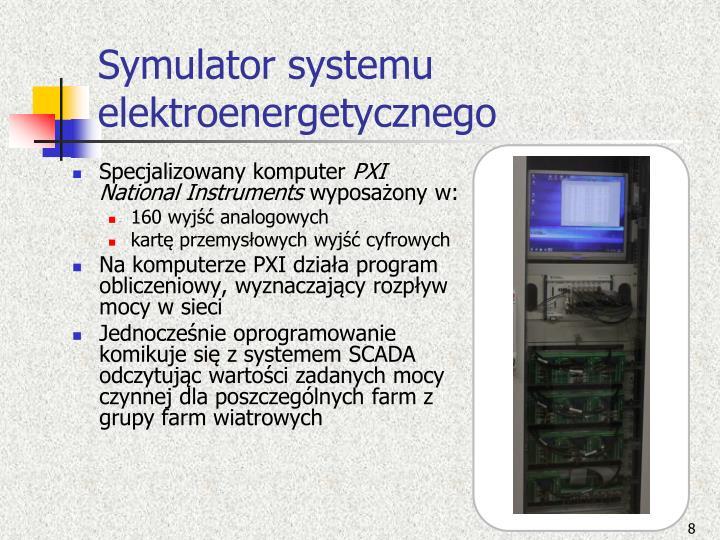 Symulator systemu elektroenergetycznego