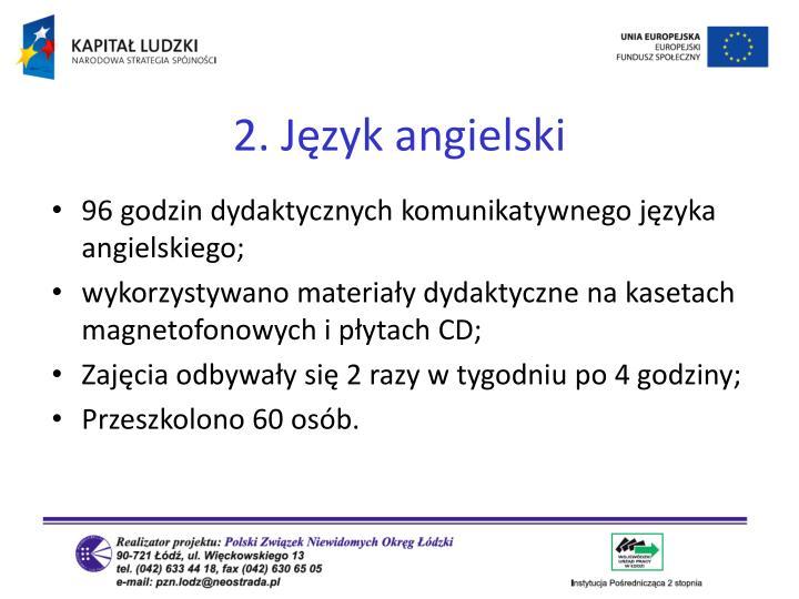 2. Język angielski