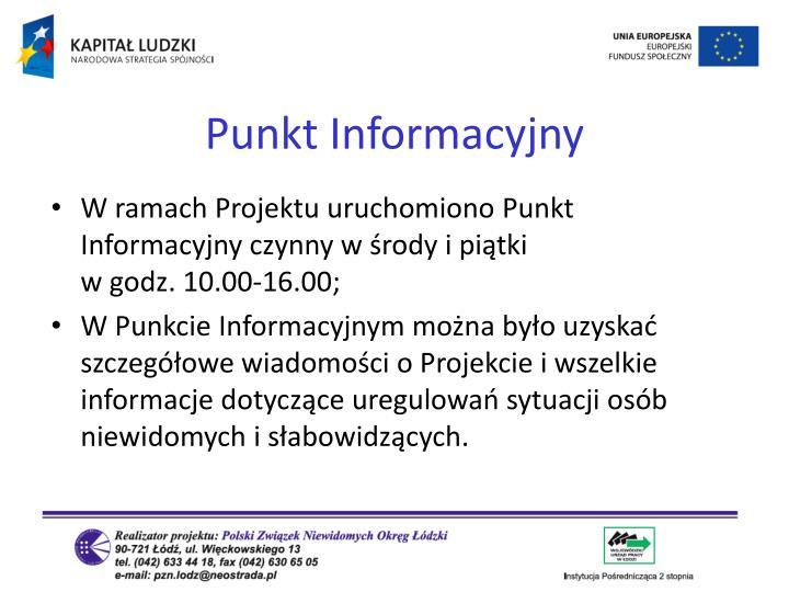 Punkt Informacyjny