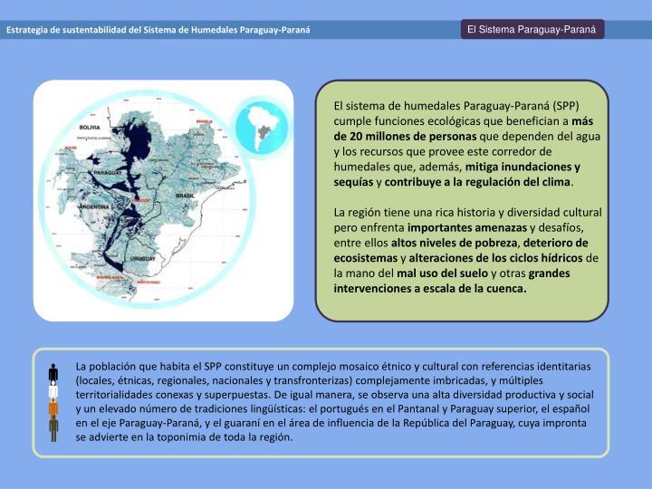 El Sistema Paraguay-Paraná