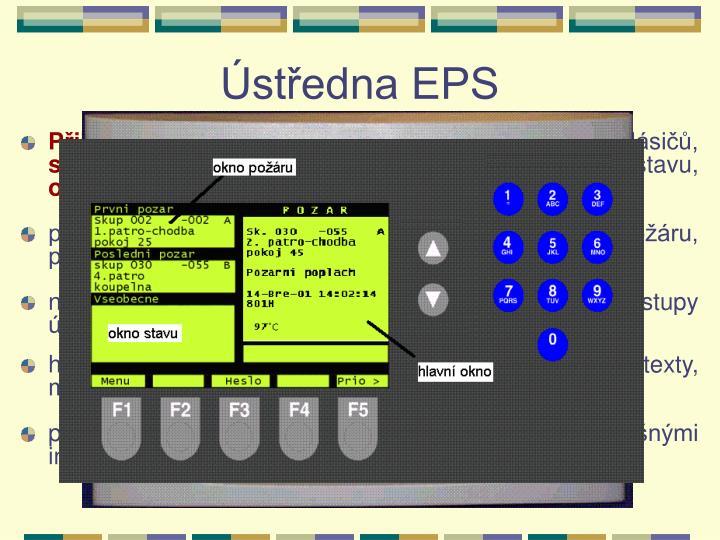 Ústředna EPS
