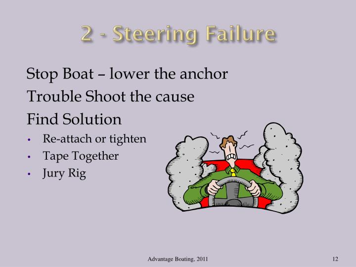 2 - Steering Failure