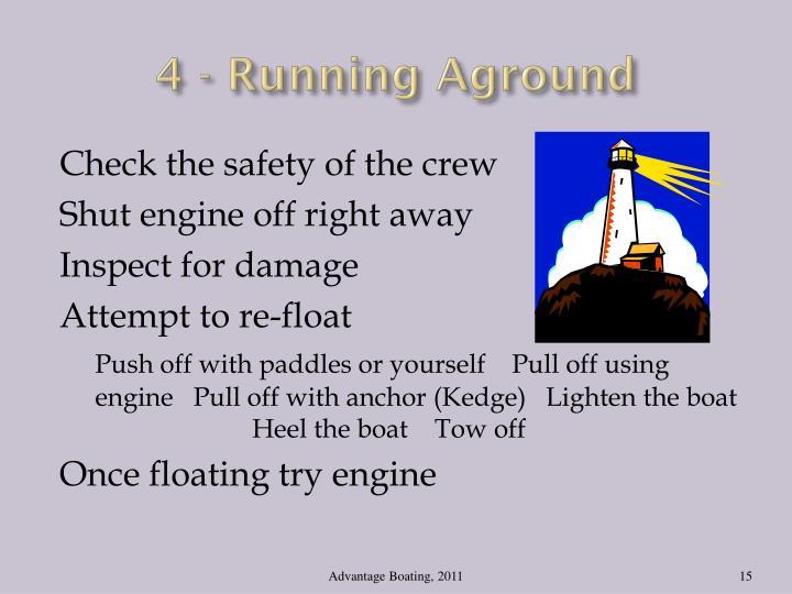 4 - Running Aground